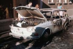 Viele gaffer und Schaulustige behindern Einsatz 1974