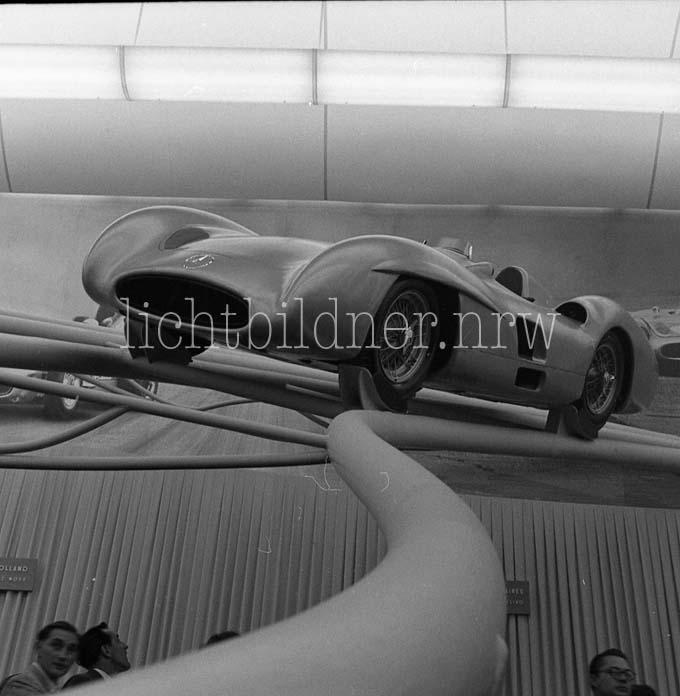 Internationale Automobilausstellung 1955 Frankfurt Main